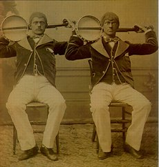 Two Guys with Banjos