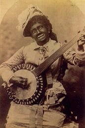 Woman in Blackface